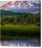 Mt Adams Sunset Canvas Print