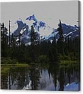 Mt Baker Washington  Canvas Print