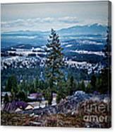 Mt Spokane Canvas Print