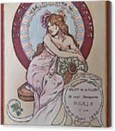 Mucha Poster Canvas Print