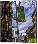 Mulberry St - Nyc Canvas Print