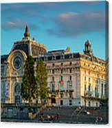 Musee D'orsay Evening Canvas Print