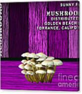 Mushroom Farm Canvas Print