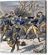 Mutiny: Anthony Wayne 1781 Canvas Print