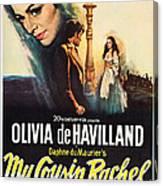 My Cousin Rachel, Olivia De Havilland Canvas Print