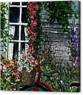 My Old Bike Canvas Print