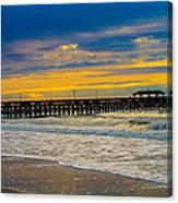 Myrtle Beach Morning Canvas Print