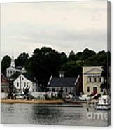 Historic Mystic Seaport Canvas Print