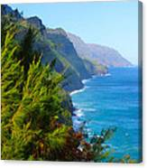 Na Pali Coast Kauai Canvas Print