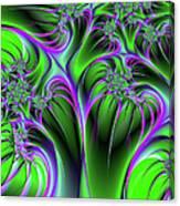 Neon Fantasy Canvas Print