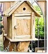 Nesting Box Canvas Print