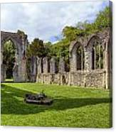 Netley Abbey Canvas Print