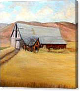 Nevada Barn Canvas Print