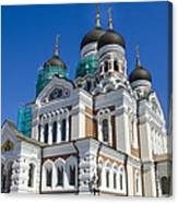 Nevsky Cathedral - Tallin Estonia Canvas Print
