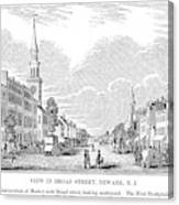New Jersey Newark, 1844 Canvas Print