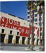 New Wing Of The San Jose Museum Of Art Canvas Print