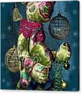 New-year Bear Canvas Print