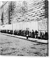 New York City Bread Line Canvas Print