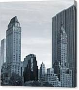 New York City From Central Park Canvas Print