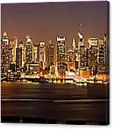New York City Skyline Canvas Print