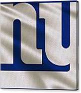New York Giants Uniform Canvas Print