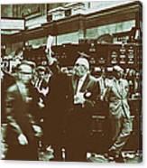 New York Stock Exchange 1963 Canvas Print