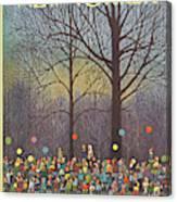New Yorker November 25th, 1972 Canvas Print