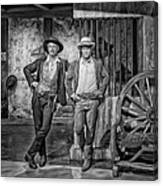 Newman And Redford Canvas Print