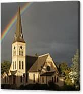 Newman United Methodist Church Canvas Print