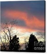 Night Falling Canvas Print