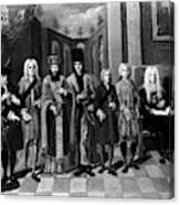 Nikolaus Von Zinzendorf (1700-1760) Canvas Print