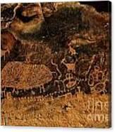 Nine Mile Canyon Canvas Print