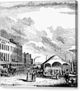Norfolk, Virginia, 1856 Canvas Print