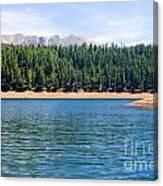 North Catamount Lake Canvas Print