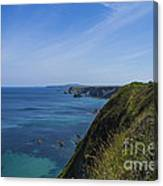 Photographs Of Cornwall North Coast Cornwall Canvas Print