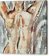 Nude Figure Canvas Print
