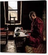 Nun's World Canvas Print