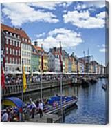 Nyhavn - Copenhagen Denmark Canvas Print