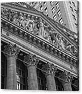 Nyse  New York Stock Exchange Wall Street Canvas Print