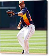 Oakland Athletics V Houston Astros Canvas Print