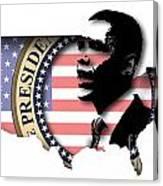 Obama-2 Canvas Print