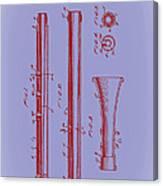 Oboe Patent 1931 Canvas Print