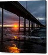 Ocean Beach Pier 1 Canvas Print