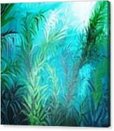 Ocean Plants Canvas Print
