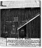Odd Fellows Historical Building Canvas Print