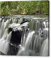 Odom Creek Waterfall Georgia Canvas Print