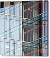 Office Building Windows Canvas Print