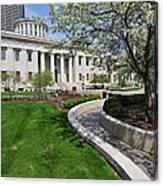 D13l-145 Ohio Statehouse Photo Canvas Print