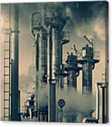 Oil And Gas Power Industry Canvas Print