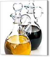 Oil And Vinegar Canvas Print